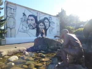 Ein Bild in Erinnerung an alle Natives. Wie ergreifend!