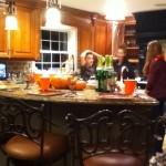 Carmen's Küche, mit mir, Elise und ihrem Cousin