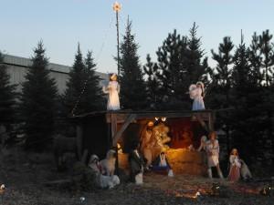 """Die Krippe in der """"Christmas City"""", California"""