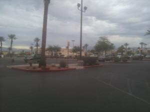 Das erste Mal, das ich in Las Vegas Wolken gesehen habe, musste ich natürlich sofort fotografieren.